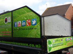 T.H Tree Services Truck